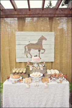 Vintage pony party for a little cowgirl's birthday. Lots of great ideas to style a girly pink wild west themed party. Vintage Birthday Parties, Horse Birthday Parties, Cowgirl Birthday, Birthday Party Themes, Vintage Party, Birthday Ideas, 3rd Birthday, Birthday Images, Birthday Quotes