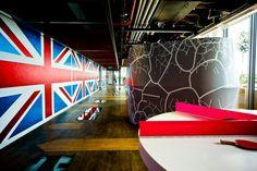 Kantor Google London, Soho - salah satu sudut tempat kerja