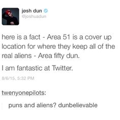 You really are fantastic at twitter, josh, all hail, king of twitter