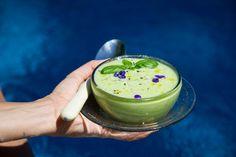 Sopa fría de melón, albahaca y pepino | Lala Kitchen | Bloglovin'