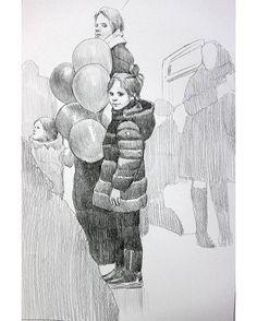 """997 mentions J'aime, 9 commentaires - Анастасия Ермакова (@ermakova_a_g) sur Instagram : """"#Путевые_заметки человека из Пу в Мо» 1 марта. - Меня преследуют воздушные шарики. Доктор, что со…"""""""