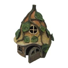 Found it at Wayfair - Fairy Garden Mushroom House with Vines