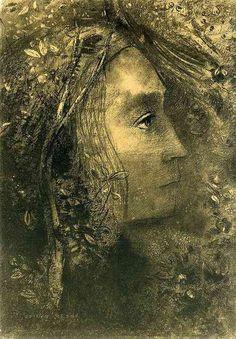 Le Printemps (Spring), 1883 Odilon Redon 1840-1916