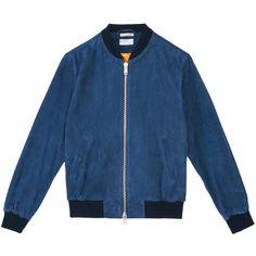 Gant Rugger Vive la Suede Jacket, SS14, via Gant