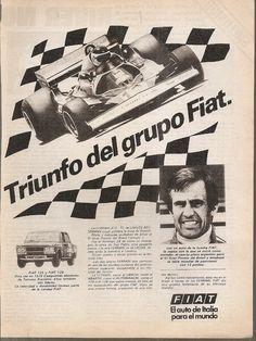 Publicidad Fiat 125-128/ Ferrari 312 T2 - Reutemann