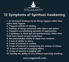 12 symptoms of Spiritual Awakening  Interesting! Will I ever get there? JDV