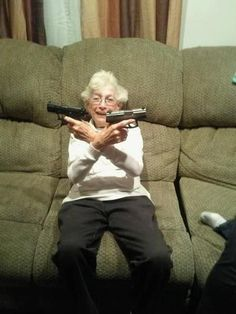 Pistol Packin' Grandma