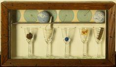 Joseph Cornell (American, 1903–1972) Celestial Navigation by Birds, ca. 1958