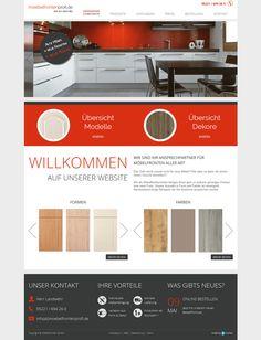 Webdesign made by 4market | www.4market.de/ | Website für Möbelfronten