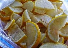 Here's Why You Should Start Freezing Lemons - FASCINATING! The next time you find a bag of Lemons for a good deal, save them in the freezer. Cooking Tips, Cooking Recipes, Healthy Recipes, Freezing Lemons, Can You Freeze Lemons, Guter Rat, Clean Eating, Healthy Eating, Healthy Food