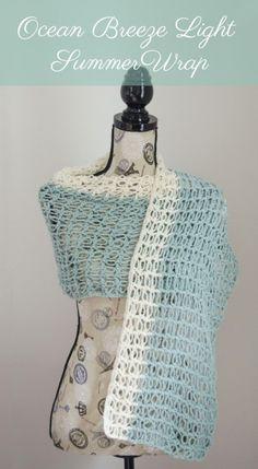 Summer #crochet wrap free pattern by Amy @StitchAndUnwind