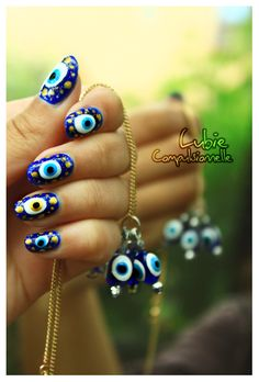 bead nail art |Pinned from PinTo for iPad|