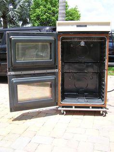 DIY powder coat oven