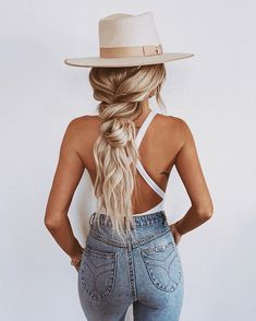 practicing all the braids this week! so many of you were interested in the denim from a couple posts ago. that pair is several years old,… Bun Hairstyles For Long Hair, Winter Hairstyles, Pretty Hairstyles, Hairdos, Emily Rose Hannon, Medium Hair Styles, Short Hair Styles, Lorde Hair, Simple Bridesmaid Hair