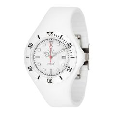 Jelly Only Time Fluo Watch in Soft White - I seem to really like a white watch.