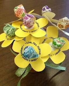 Have a great summer - end of the school year treat. Cute idea!
