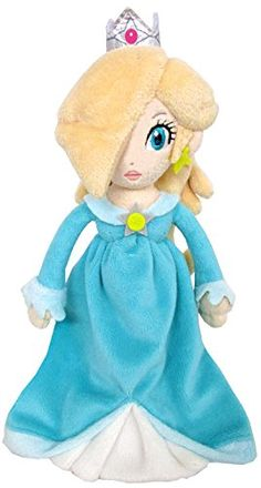 Super Mario Bros Princess Rosalina Inch Anime Stuffed Plush Kids Toys by kidsheaven: Made in China;Available Color: As Picture;Surface wash only with damp sponge Super Mario Princess, Nintendo Princess, Princess Toys, Super Mario Bros, Mario Toys, Mario Bros., Mario Kart, Kids Toys Online, Caleb
