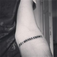 Diseños de tatuajes que sólo los fans de Arctic Monkeys amarán …