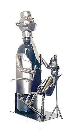 "Bellaa Hand Made Designer Wine Holder ""Dentist"" Dental gift idea."
