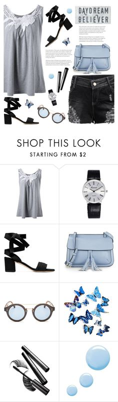 """""""Daydream Believer"""" by tamara-p ❤ liked on Polyvore featuring KC Jagger, Jimmy Choo, Chantecaille, Topshop, Summer, Spring, casual and dreamer"""