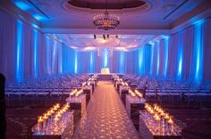 Aisle ~ Contemporary Luxury Wedding at The Breakers ~ LUVROX Photography, Always Flowers and Events, Sara Renee Events | bellethemagazine.com