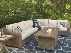 Signature Design by Ashley Beachcroft Outdoor Conversation Set | Value City Furniture | Outdoor Conversation Sets/Outdoor Chat Sets