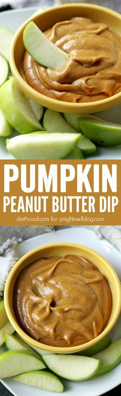 All the flavors of fall in one simple, super-delicious Pumpkin Peanut Butter Dip!