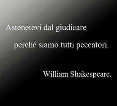 Shakespeare tutti peccatori