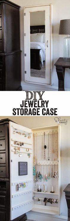Craft Project Ideas: DIY Jewelry Organizer!! …