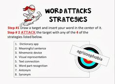 """Creating Lifelong Learners: Word Attack Notebooks ~ """"I've Tried It"""" and """"You Can Take It Away"""""""