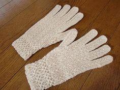 Ravelry: #21 Twisted-stitches lace Gloves pattern by Toshiyuki Shimada (嶋田俊之)