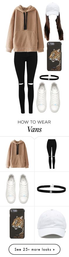 """Outfit"" by andreeadeeix12 on Polyvore featuring WithChic, Vans and Dolce&Gabbana"