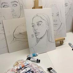 Kunst Zeichnungen - ˢᵀᴬᴿˢ ᴶᵁˢᵀ ᵀᴼ ᴹᴬᴷᴱ . Art Et Illustration, Illustrations, Art Inspo, Art Sketches, Art Drawings, Creative Sketches, Pencil Drawings, Bel Art, Art Du Croquis