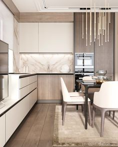 Awesome modern kitchen room are offered on our site. Read more and you wont be sorry you did. Modern Kitchen Interiors, Luxury Kitchen Design, Kitchen Room Design, Kitchen Cabinet Design, Luxury Kitchens, Home Decor Kitchen, Interior Design Kitchen, Kitchen Furniture, Home Kitchens