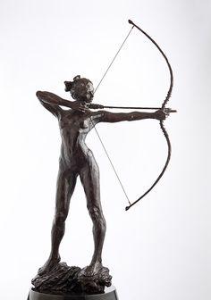 Alapadma (maquette) | Paige Bradley | Bronze Sculpture