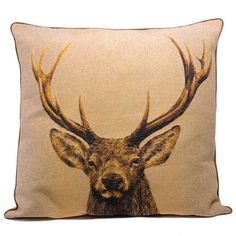 Enormous Stag Cushions