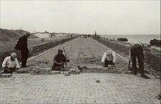 Stratenmakers op de Afsluitdijk