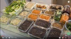 Nutricionista ensina em seu canal do YouTube como preparar almoços saudáveis para semana toda em apenas 2 horas. Confira!