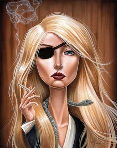 "Audrey Pongracz    ""Regret""    16x20 - oil on canvas    piece for Spoke Art's ""Quentin vs Coen"" round 3  showing at Beyond Eden Art fair, Los Angeles  October 1st"