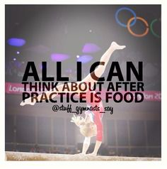 I know this says gymnastics but that's what I think Of after cheer! Funny Gymnastics Quotes, Inspirational Gymnastics Quotes, Gymnastics Posters, Gymnastics Pictures, All About Gymnastics, Gymnastics Skills, Gymnastics Workout, Gymnastics Stuff, Amazing Gymnastics