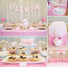Lovely Cakes tea party ideas