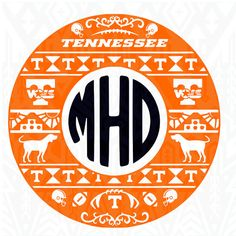 Tennessee svg Tennessee vector Tennessee Monogram by Dxfstore