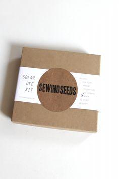 Sewing Seeds Solar Dye Kit