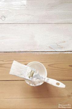 Nordic extra white oil stain. DIY-guide to lush Scandi floors via that nordic feeling