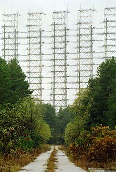 Duga-3 array outside Chernobyl.
