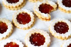 These Linzer Cookies with Strawberry Jam are a delightful, sweet treat that's perfect for holidays like Christmas and Valentine's Day!