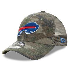 7537983e1d1 Buffalo Bills New Era Woodland Trucker Duel 9FORTY Adjustable Snapback Hat  - Camo  BuffaloBills