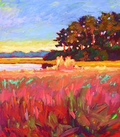 Ashepoo Marshlands V by Betty Anglin Smith