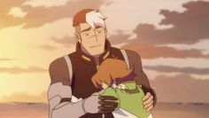Voltron: Legendary Defender - Shiro and Pidge (Shiro is the best Space Dad!)