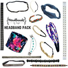 Introducing our new 1 for 2 Headband Packs! Available in an adult and kid version. Each pack contains a variety of 15 headbands + donates 30 headbands to a hospital of your choice smile emoticon More gorgeous headbands for you and headbands for kids at a hospital of your choice...does shopping get any better than that?